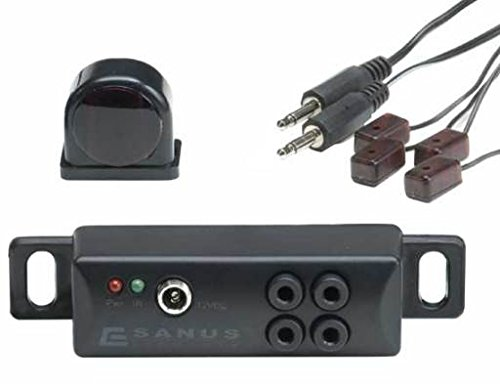 Sanus IR Repeater - Conceal AV Components Behind closed AV Furniture Doors- ELM501 (Sanus Component)