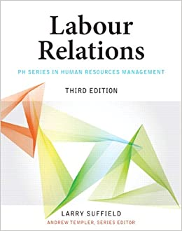 labour relations 3rd edition suffield