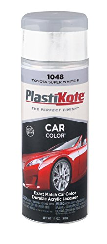 PlastiKote 1048 Toyota Super White II Automotive Touch-Up Paint - 11 oz.