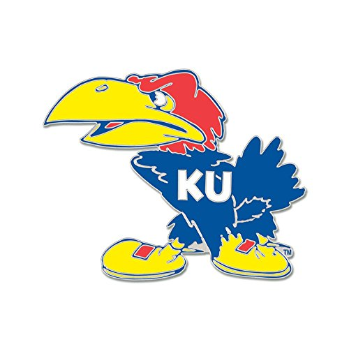 Kansas Jayhawks Lapel Pins (Kansas Jayhawks Official NCAA Lapel Pin by Wincraft 345608)