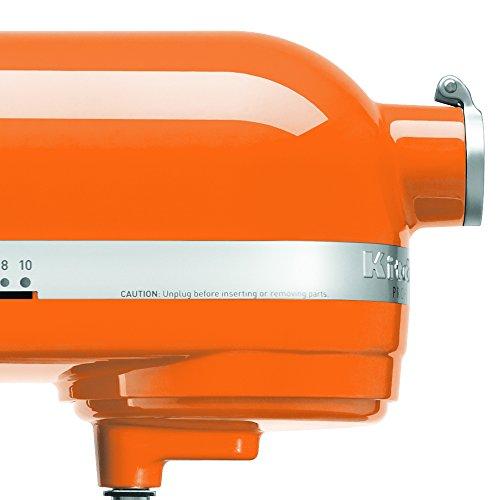 KitchenAid KP26M1XTG 6 Qt. Professional 600 Series Bowl-Lift Stand Mixer - Tangerine by KitchenAid (Image #2)