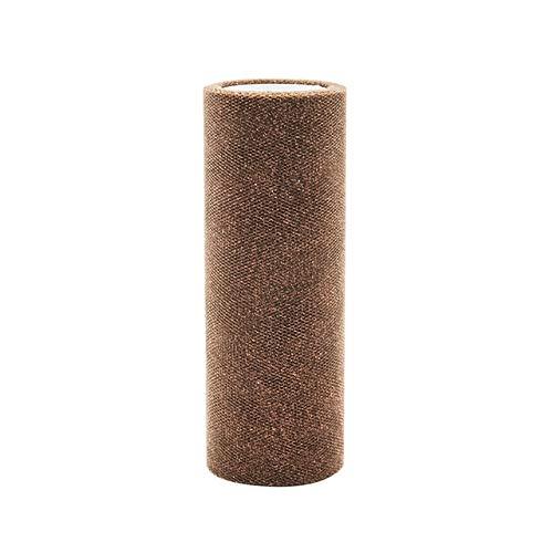 Sala-Tecco - 10YardX15cm Bling Crystal Tulle Roll Organza Sheer Gauze Element For DIY Tutu Skirt Table Birthday Wedding Party -