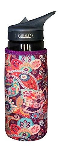 Koverz - #1 Neoprene 24-30 oz Water Bottle Insulator Cooler Coolie - Paisley