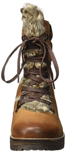 Bugatti Women's 421323521219 Boots, Green/Grey Brown (Mid-brown / Brown 6460)