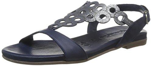 Tamaris Damen Sandale Blau
