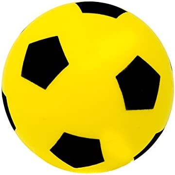E-Deals 20cm Foam Ball - Yellow: Amazon.es: Juguetes y juegos