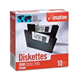 """Imation - 3-1/2"""" Diskettes, Formatted, PC"""