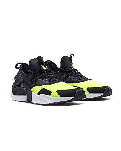 huge discount cb17c c4848 NIKE Men s Air Huarache Drift Volt Black White AH7334-700 (Size  10