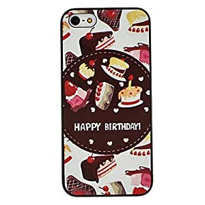 JJECake Pattern Hard Case for iPhone 5/5S