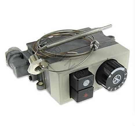 710 MINISIT 0.710.743 freidora termostática válvula de gas termostato Cartucho glándula: Amazon.es: Hogar