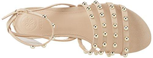 Guess Footwear Dress, Sandali con Cinturino Alla Caviglia Donna Avorio (Light Natural)