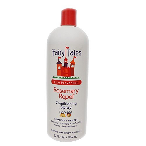 FAIRY TALES Rosemary Repel Conditioning Spray, 32 oz (Refill Bottle)