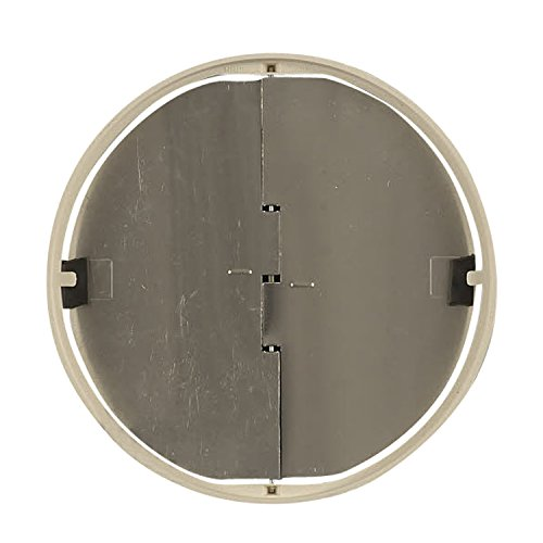 "Whirlpool W10355451 Vent Hood Parts 7"" Round Bent Damper"