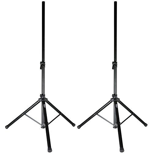 Talent SSGP Gig Pack 5 ft. PA/DJ Tripod Speaker Stand Pair w/Bag by Talent
