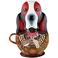 Himalayan Glow HBM-7002 Multicolor HimalayanBreeze Decorative Dog Fan (4-4 lbs) 14 inch. ETL Certified Unique trend design With Hand painted finish portable Dog Style Fan