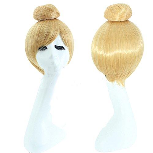 Women's Cosplay Costume Wig for Disney Princess Short