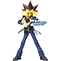 Japan Official Yu-Gi-Oh! Movie: The Dark Side of Dimensions Revoltech Yugi Muto Complete Scale Action Character Model Figure Revo Vulcanlog 09 Union Creative