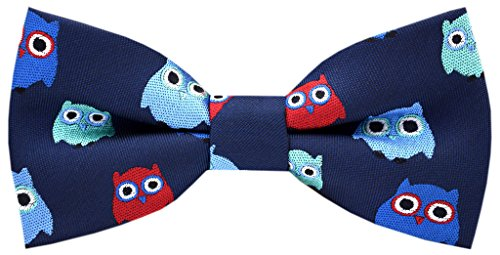 Carahere Boy's Handmade Pre-Tied Patterned Bow Ties 7R