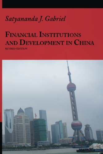 Financial Institutions And Development In China