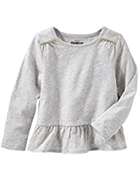 Girls' Kids Long Sleeve Knit Tunic