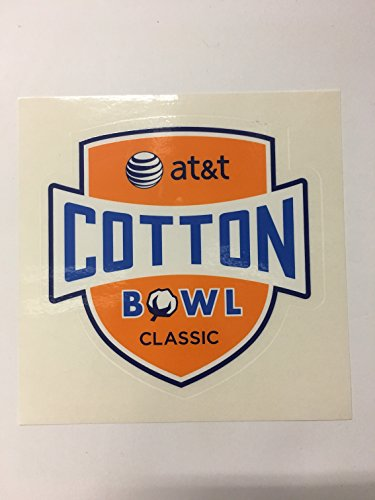 Cotton Bowl Classic At T Helmet Sticker Decal Custom