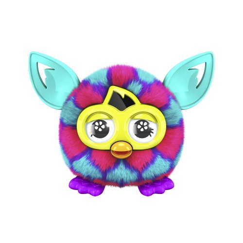 Furby Furbling Critter (Pink and Blue Hearts)
