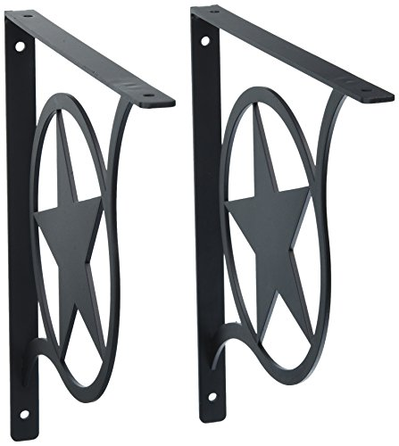 Western Star Shelf Brackets - 9.25 Inch Western Star Shelf Brackets Large