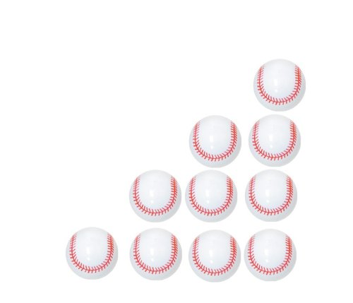 Baseball Mini Toys Pack of 10