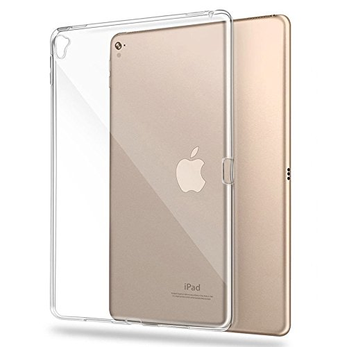 iPad Pro 12.9 Case, TopACE Transparent Soft Gel TPU Silicone Case Cover for Apple New iPad Pro 12.9 Inch, 2017 Release (Clear)