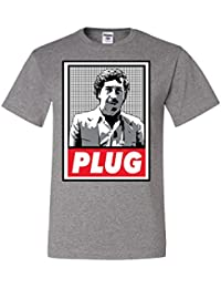 Pablo Escobar Plug Cocaine Cowboys Narcos Tee Graphic Unisex T-Shirt