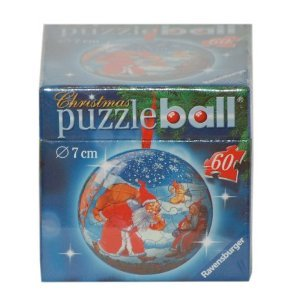 Puzzleball Christmas Ornament - SC with Presents