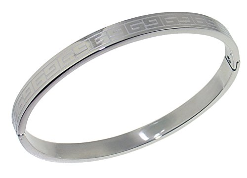 [316 L Stainless Steel Solid Women Bangle - 7 MM = 0.20