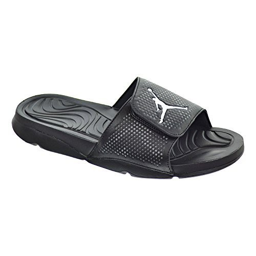 Jordan Hydro 5 Men's Sandals Black/White/Cool Grey 820257-010 (12 D(M) US) by Jordan