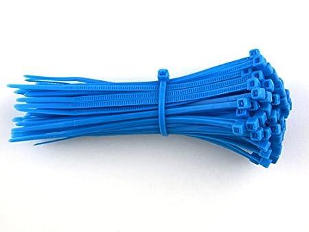 e8ac30fa5f57 100 Pack of Blue Cable Ties - 300mm x 4.8mm - High Quality Strong Nylon Zip  Ties by Gocableties: Amazon.co.uk: DIY & Tools