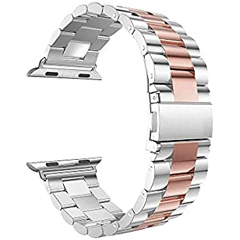 Accessory for Apple Watch Halloween Hot Sale!!Kacowpper Stainless Steel Bracelet Smart Watch Band...