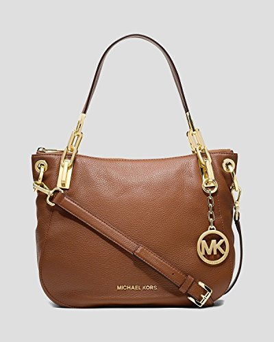 MICHAEL Michael Kors Brooke Medium Shoulder Tote (Luggage)