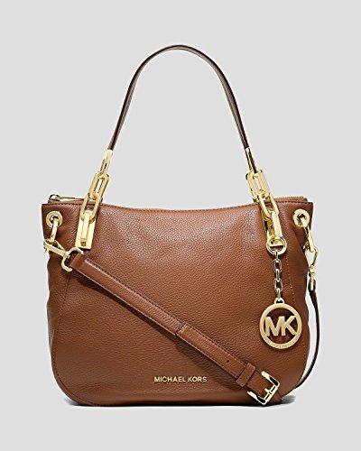 MICHAEL Michael Kors Brooke Medium Shoulder Tote (Luggage)