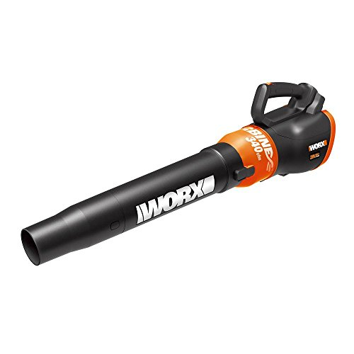 AmzH Cordless Leaf Blower 120 MPH 340 CFM 20-Volt Lithium-Ion Cleaning (Bare Tool) by AmzH