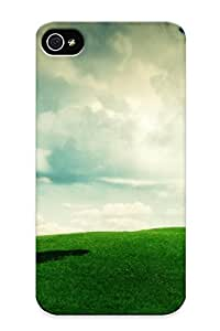 Awesome Case Cover/iphone 4/4s Defender Case Cover(summer Landscape) Gift For Christmas
