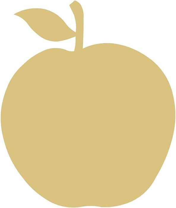 The Best Apple Fruit Cutout