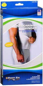 Sport Aid Abdominal Binder LG 1 Each (Pack of 4)