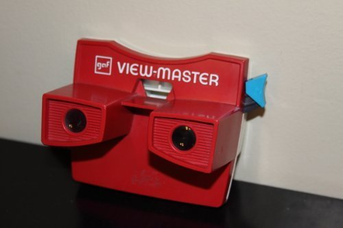 Vintage GAF View-Master Viewer Red White and Blue USA