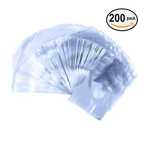 """Vancool 4""""×6""""Odorless Shrink Wrap Bags-(100 Gauge) -200pcs"""