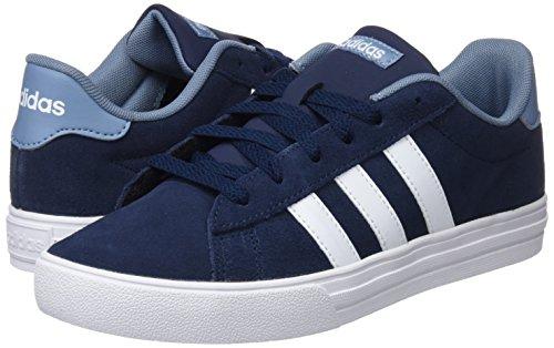 Grinat 0 Daily maruni Bleu 000 Basses Ftwbla Mixte Enfant Adidas 2 Sneakers x6wqxvg