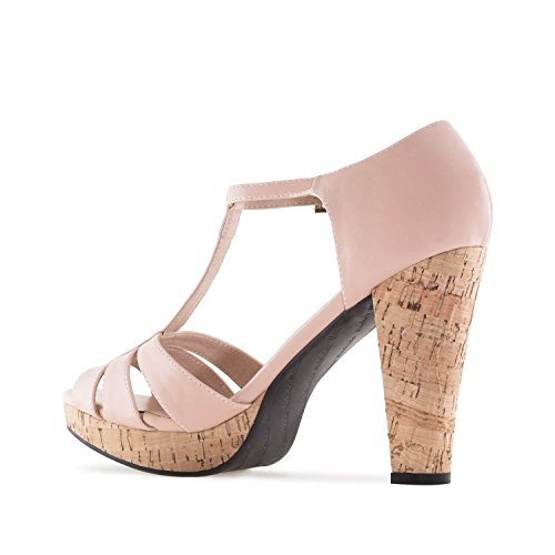 Machado 5 Cork UK 10 AM5242 Sizes Andres 5 45 42 2 EU Leather Sandals 32 Faux EU 35 UK Faux 5 to to Platform Nude to Petite to 0 amp;Large Leather 8 dIZIRzwq