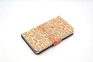 Cartoon Magic Girl Flip Skin Cover Case PU Flip Leather Case Cover For LG Optimus G2 D801 D802 F320