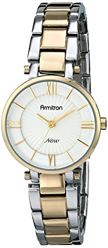 Armitron Women's 75/5239SVTT Two-Tone Bracelet Watch
