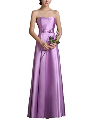 Women Sweetheart Elegant Dress Lavender Long Color Line Prom for e Dress dress Evening A CHqz1n