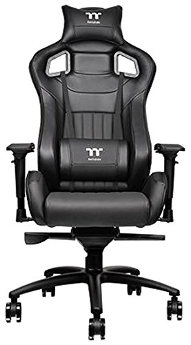 Thermaltake Tt eSPORTS X Fit XF100 Racing Bucket Seat Style Ergonomic Gaming Chair Black GC-XFS-BBMFDL-01 by Thermaltake