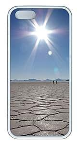 iPhone 5 5S Case Sky Mirror TPU Custom iPhone 5 5S Case Cover White